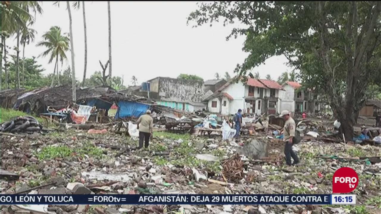 Podría Aumentar Número Víctimas Tsunami Indonesia
