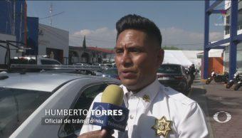 Policía Atizapán Habla Faltas Respeto Ciudadanos