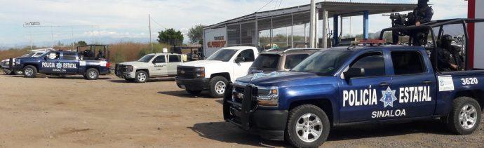Intensifican seguridad en Sinaloa luego de enfrentamientos