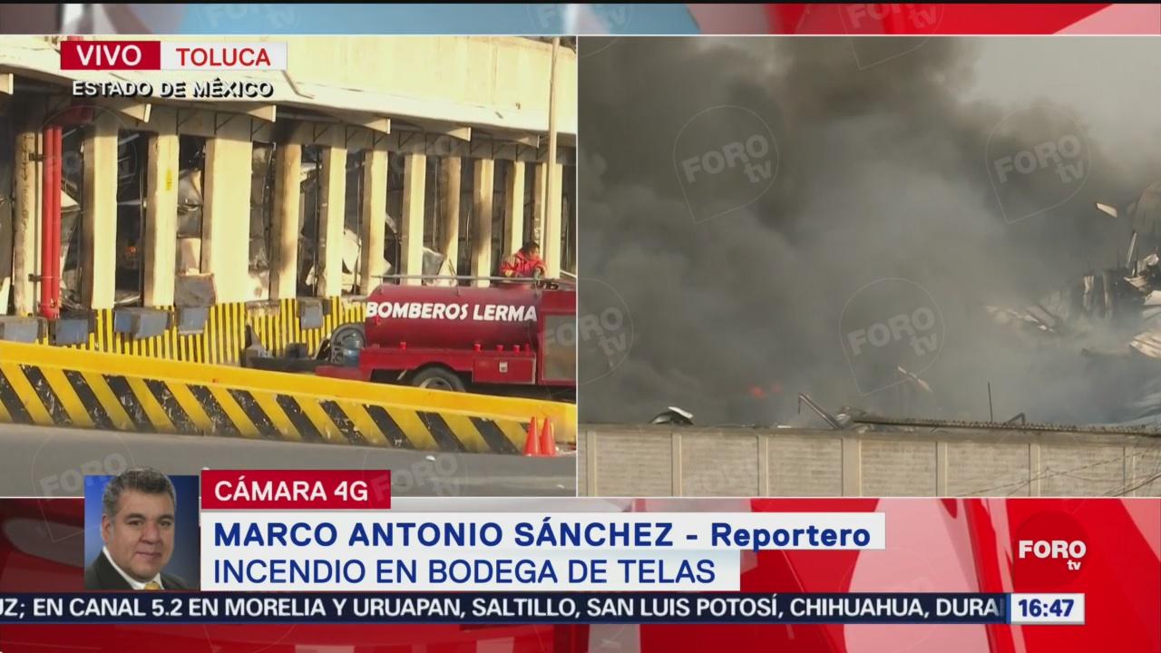 Reabren aeropuerto de Toluca, pero continúa la conflagración