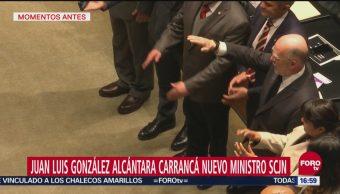Rinde protesta González Alcántara Carrancá como nuevo ministro