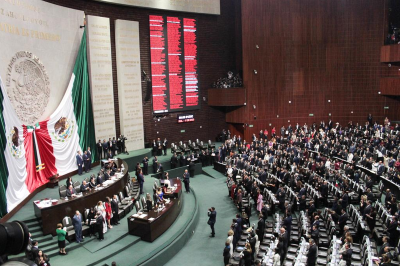 Diputados avalan en lo general Ley Orgánica de la Fiscalía