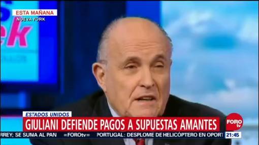 Rudolph Giuliani Defiende Pagos De Supuestas Amantes De Trump, Rudolph Giuliani, Defiende Pagos De Supuestas Amantes De Trump, El Abogado De Donald Trump