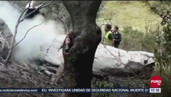 Se desploma avioneta en Atizapán de Zaragoza