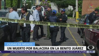 Se registra balacera tras asalto en Benito Juárez, CDMX