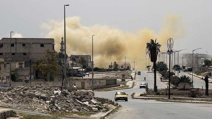 eu bombardea posicion del estado islamico en siria