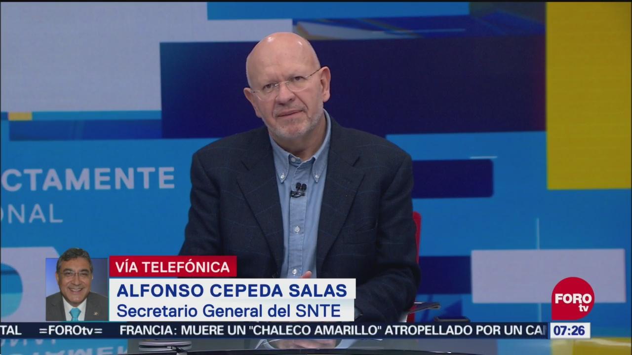 SNTE: Reforma educativa será sustituida por un modelo que garantice educación gratuita