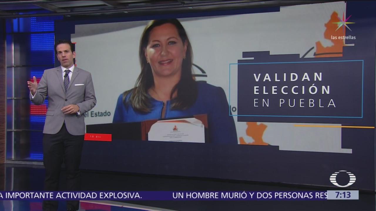 TEPJF valida a Martha Erika Alonso como gobernadora de Puebla
