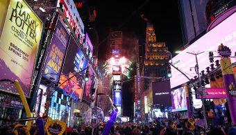 Fiesta de Año Nuevo en Times Square celebrará la prensa