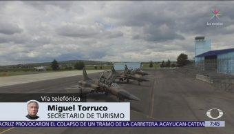 Tres aeropuertos del Valle de México recibirán vuelos nacionales e internacionales