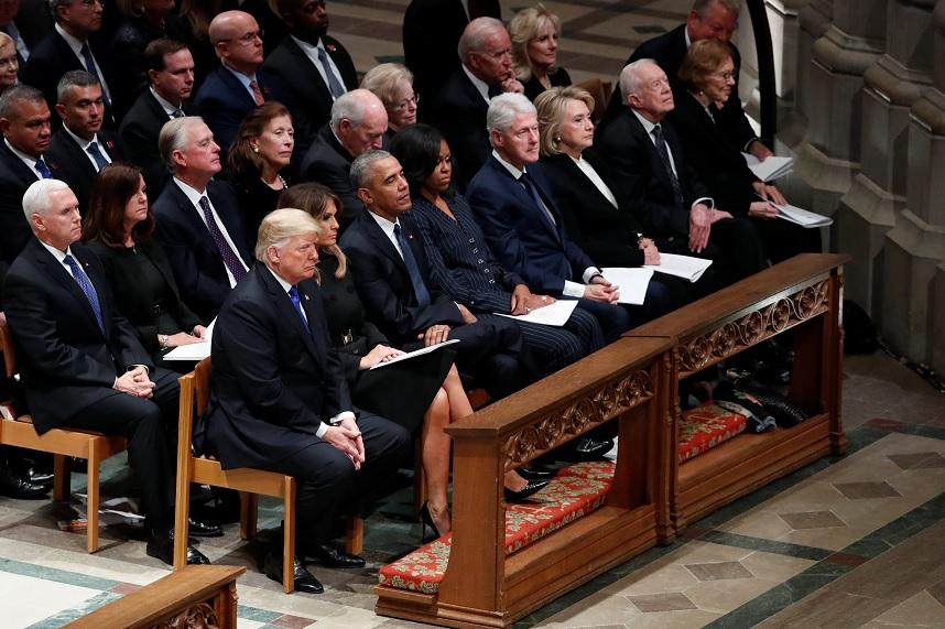 Celebran funeral de Estado de George H.W. Bush