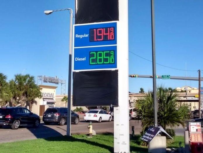 Gasolina vale 10 pesos en Texas