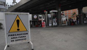 clientes pelean en fila de gasolinera en iztapalapa