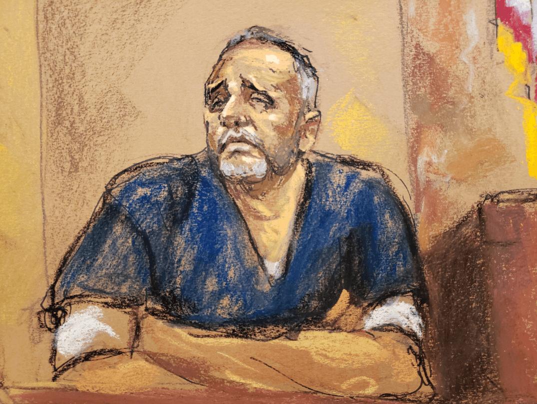 Alex Cifuentes testifica en Nueva York. (Reuters)