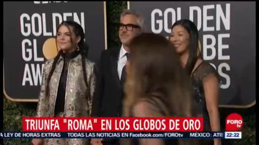 Alfonso Cuarón gana 2 Globos de Oro por 'Roma'