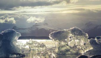 Antártida Masas Hielo Derrite Rápido Nivel Mar