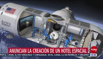 Anuncian la creación de un hotel espacial
