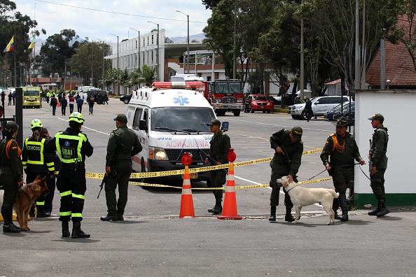 Identifican al autor del atentado contra policías en Bogotá