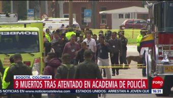 Atentado en Academia de Policía de Colombia deja 9 muertos