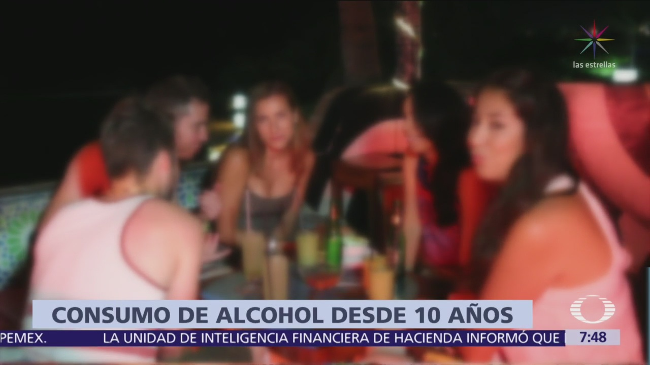 Aumenta consumo excesivo de alcohol en México