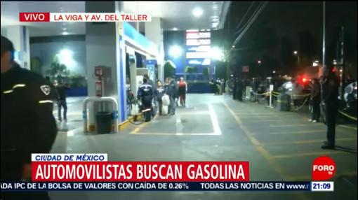 Automovilistas Buscan Gasolina Venustiano Carranza CDMX