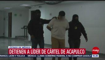 Cae presunto líder del cártel de Acapulco