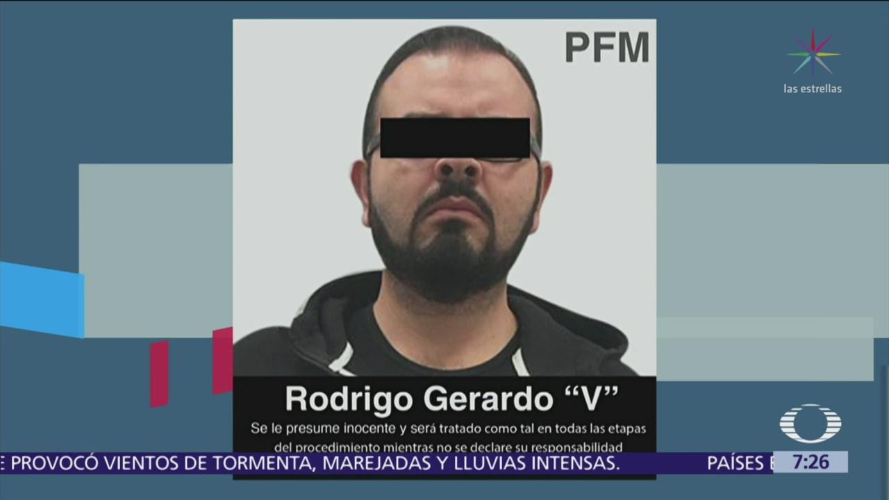 Capturan a Rodrigo Vallejo Mora por delincuencia organizada