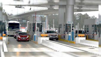 Foto:Las 133 plazas de cobro administradas por Capufe sólo reciben pago en efectivo o con TAG, 20 abril 2019