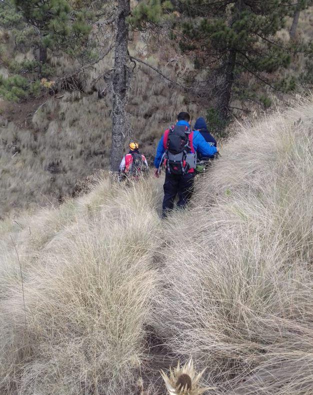 buscan cuerpo de excursionista en cerro la malinche en puebla