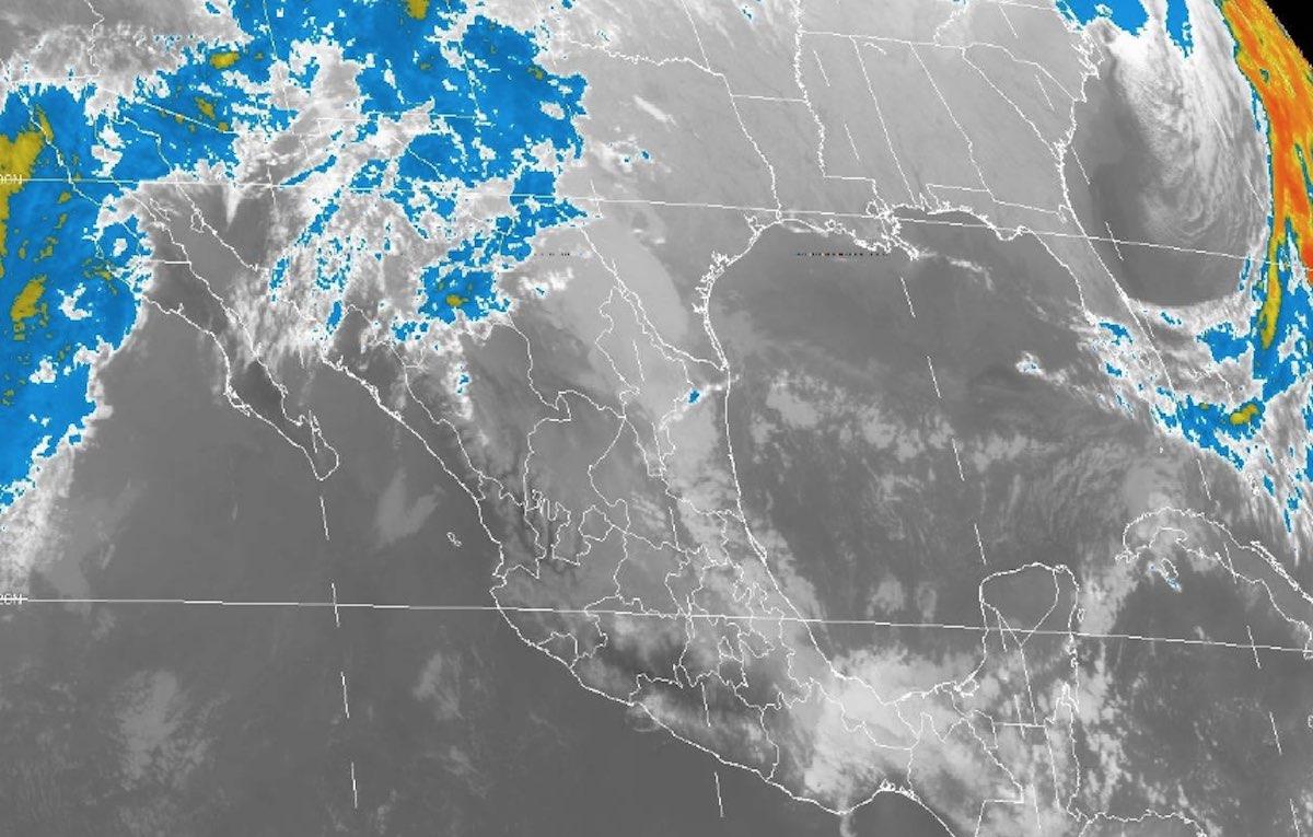 Tormentas Intensas Nevada Aguanieve Clima Frente Frío