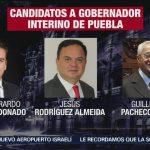 Congreso de Puebla analiza terna de candidatos a gobernador