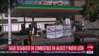 Foto: Continúa el desabasto de combustible en Jalisco y Nuevo León, 27enero 2019