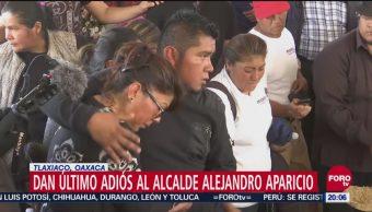 Dan Último Adiós A Síndico Y Alcalde De Tlaxiaco, Último Adiós, Síndico, Alcalde De Tlaxiaco, Perfecto Hernández, Alejandro Aparicio