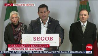 Diego Sinhué Rodríguez afirma que Guanajuato no tiene problemas con diésel
