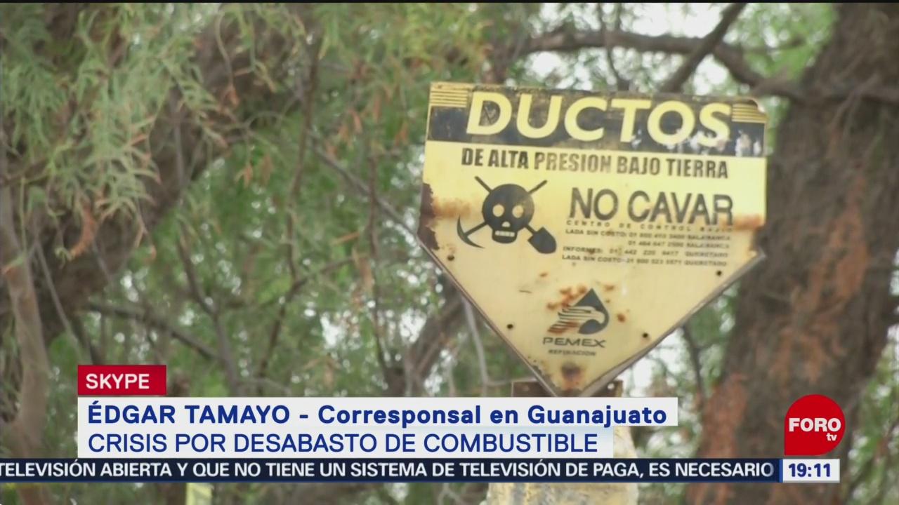Empieza Abasto De Gasolina En Guanajuato