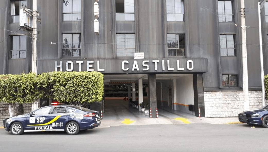 Encuentran cadáver de mujer en hotel de Calzada de Tlalpan