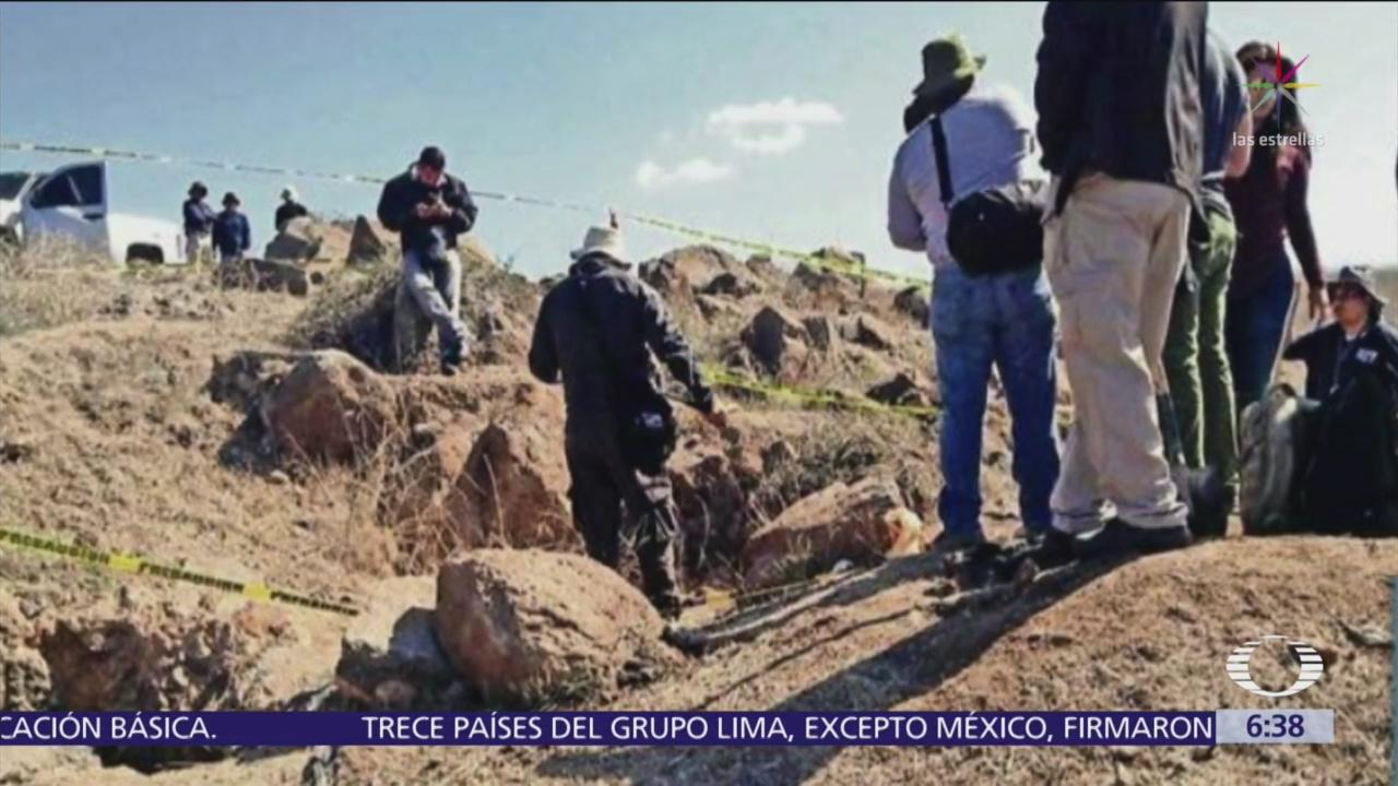 Encuentran más de 20 mil restos óseos en terreno de Culiacán
