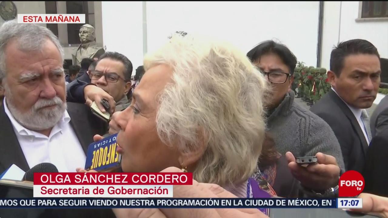 Estado mexicano es más fuerte que el huachicol: Sánchez Cordero