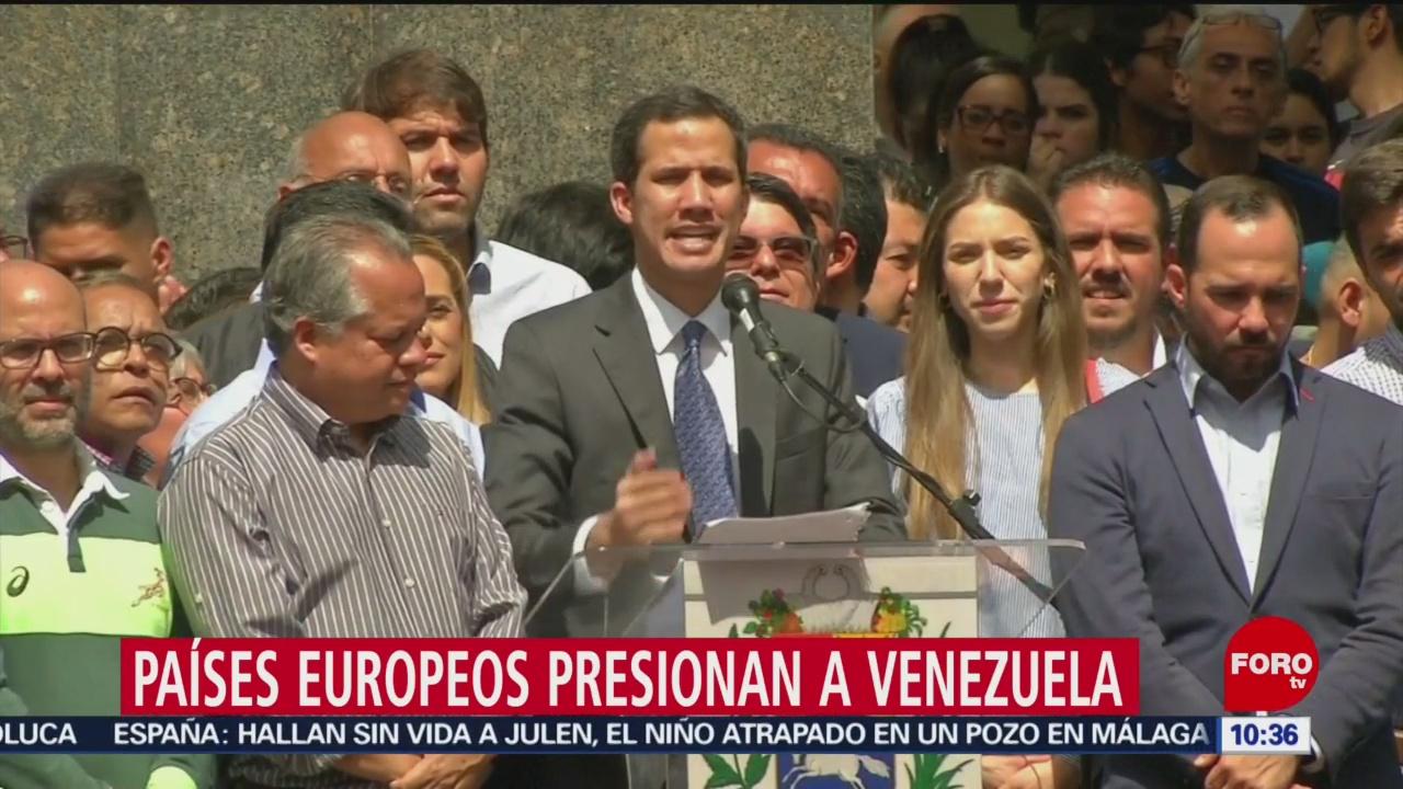Foto, 26 enero 2019, EU convoca al Consejo de Seguridad de la ONU por Venezuela