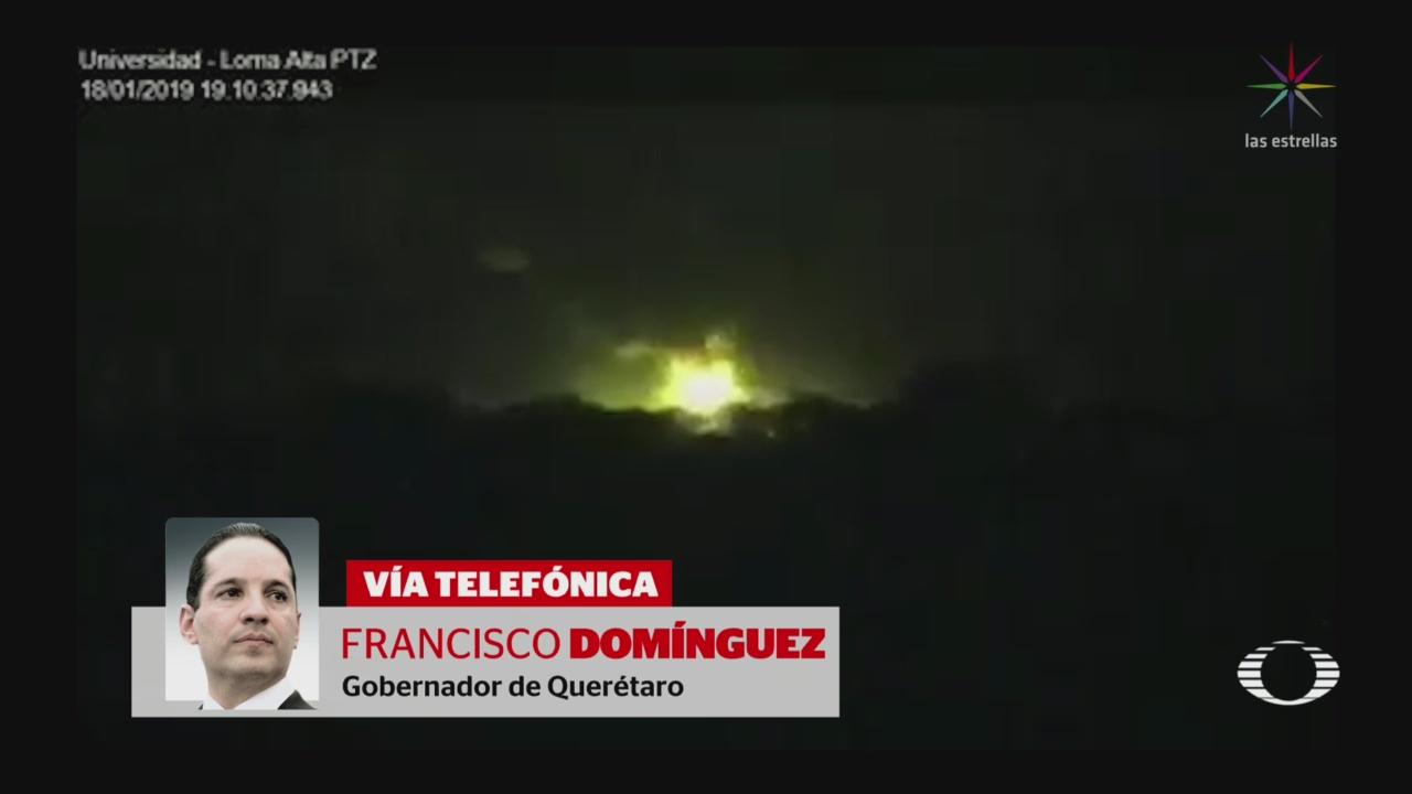 Explota Ducto Querétaro Incendio Ya Controlado
