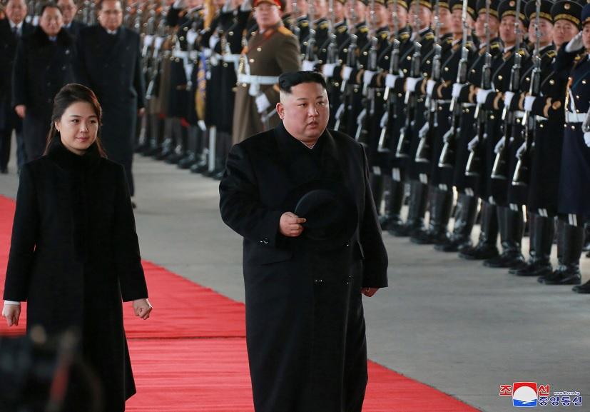 Corea del Norte: Kim Jong-un visita China