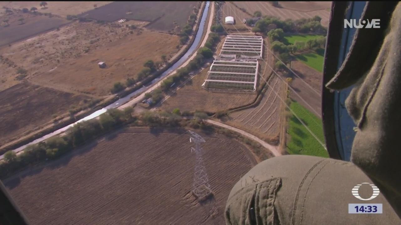 Fuerzas federales vigilan ductos de Pemex