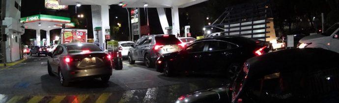 Abasto de gasolina en la CDMX se normaliza paulatinamente