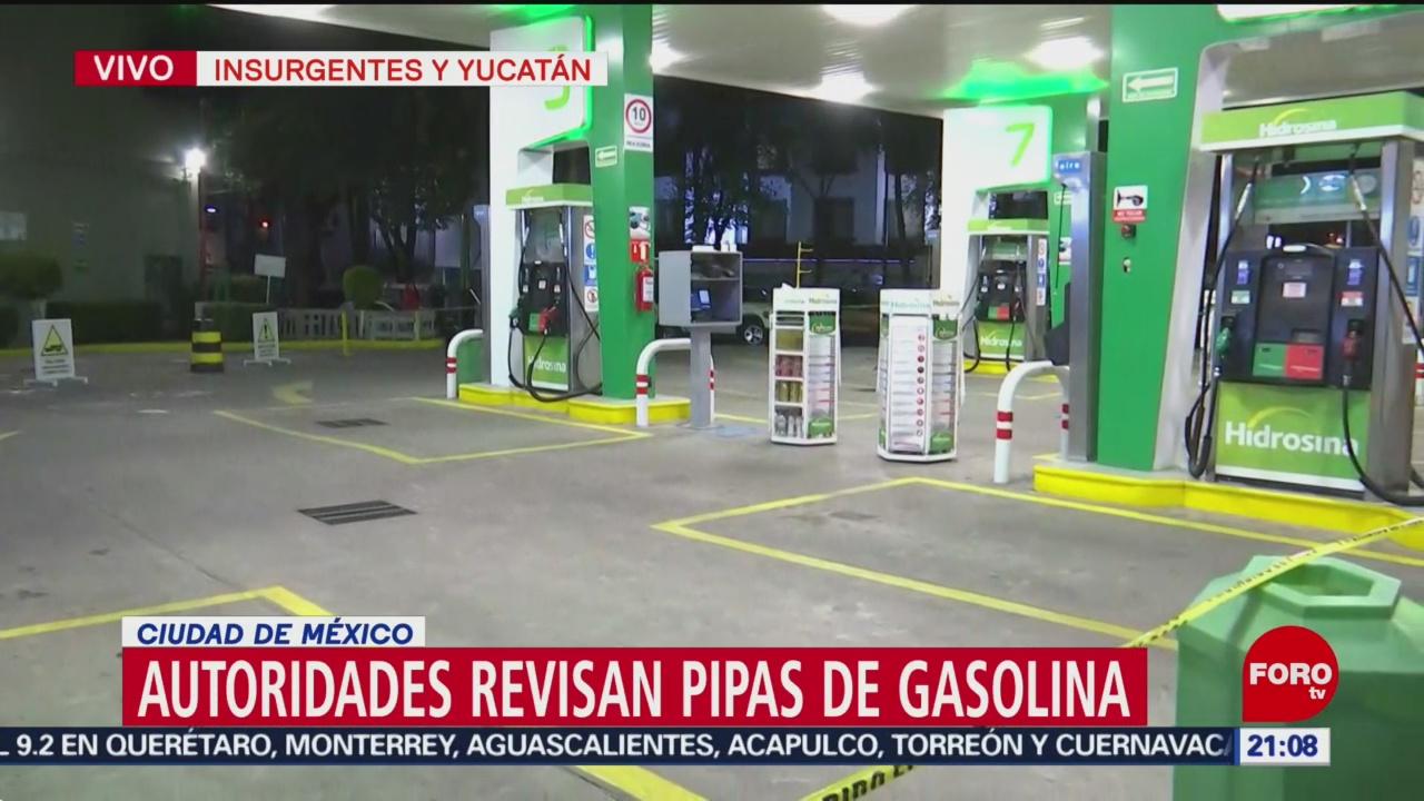 Gasolinera Colonia Roma Recién Abastecida CDMX