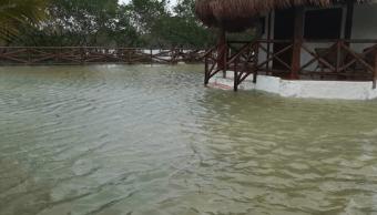 FOTO Frente frío 31 deja un muerto en Quintana Roo /Quintana Roo 27 enero 2019