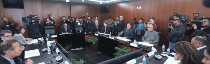 Jucopo, Senado, Discusión sobre Guardia Nacional, Twitter, 29 enero 2019