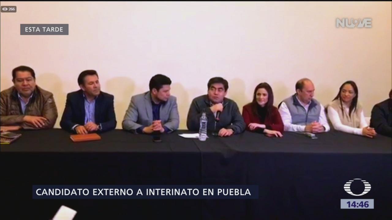 Juntos Haremos Historia tendrá candidato externo para gubernatura interina de Puebla