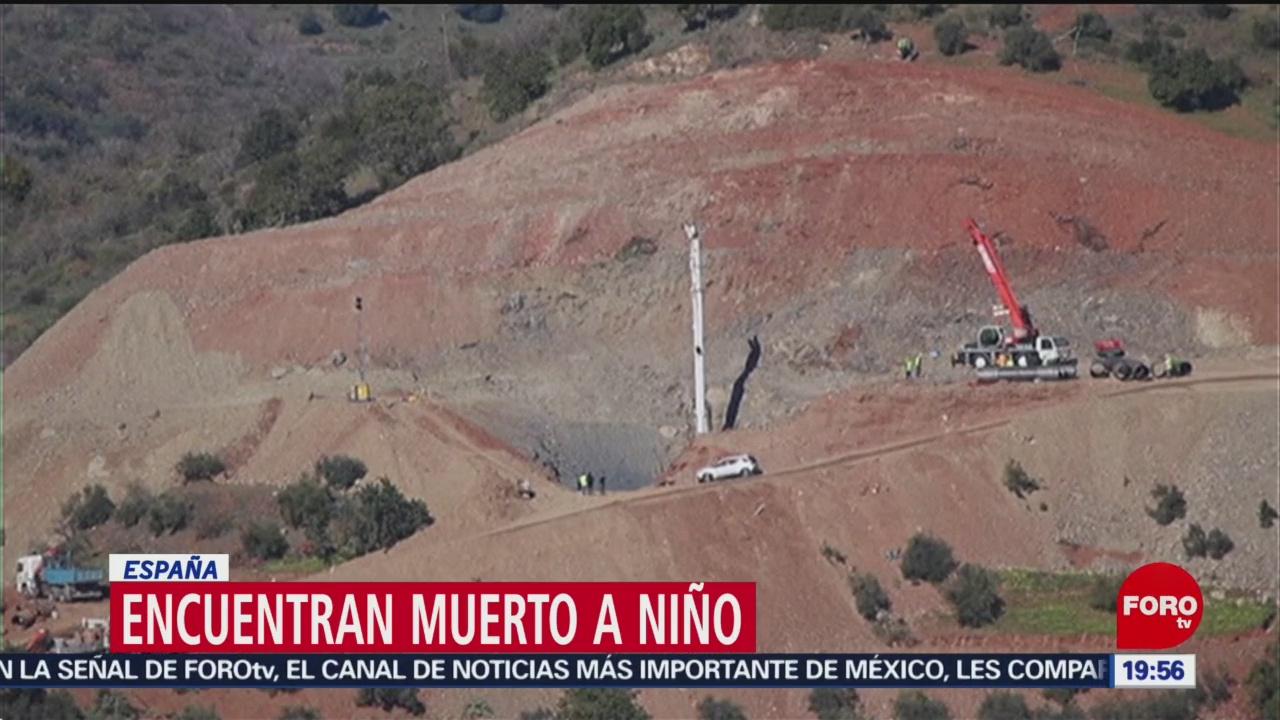 Foto: Localizan Cuerpo Niño Julen Málaga 25 de Enero 2019