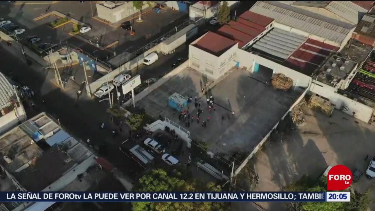 Foto: Localizan Tomas Clandestinas Alcaldía Azcapotzalco 29 de Enero 209