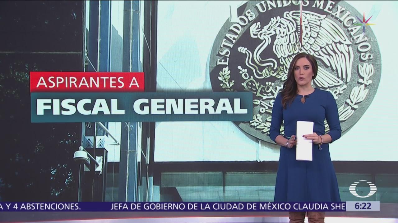 Los 10 aspirantes a Fiscal General de la República